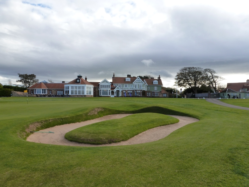 18th green and the clubhouse (Chapters 18 & 19)
