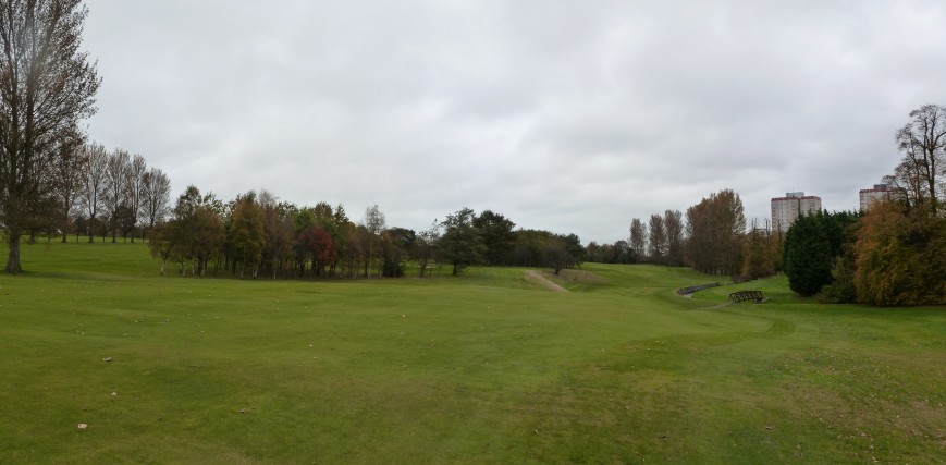 Left to right - 2nd green, 4th green and the 5th tee from the 3rd fairway (Chapters 6 & 7)