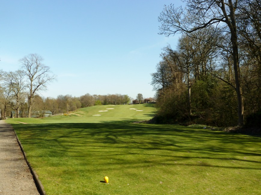 The 17th Tee to Green