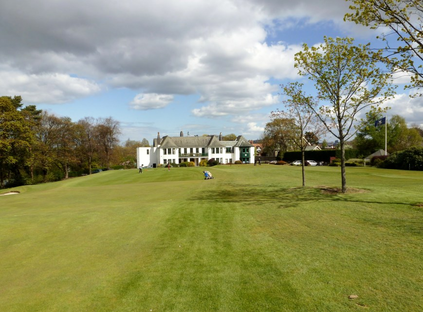 The Clubhouse from the 18th Fairway